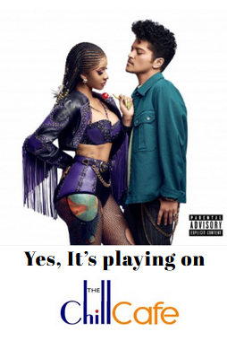 Cardi B & Bruno Mars Promo Single Cover Art